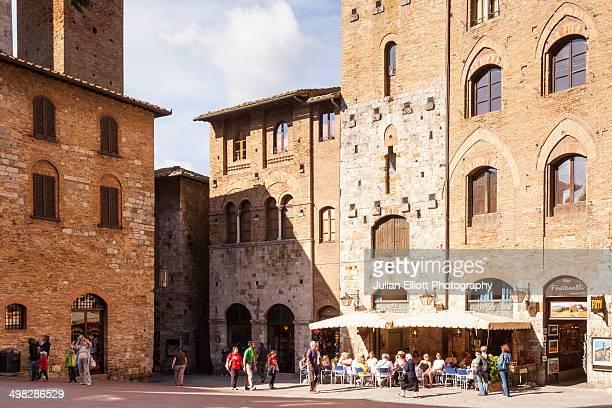 The historic centre of San Gimignano, Tuscany.