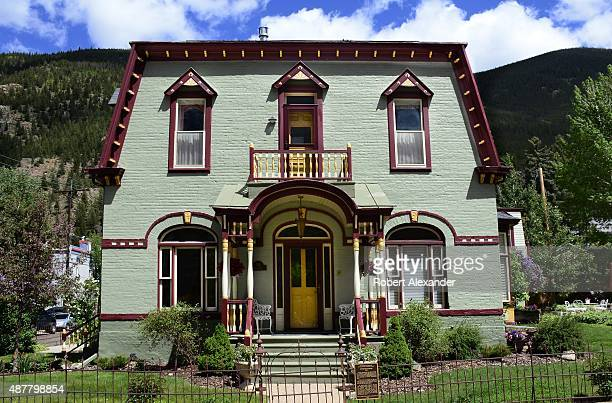 The historic Cornish House in the historic mining town of Georgetown Colorado was built in 1892 by wealthy mine supervisor Thomas Cornish The home...