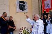 The historical association Papal Guard Corsican in St Grisogono inaugurated the plaque commemorating the Corsican Guard during the cerimony of the...