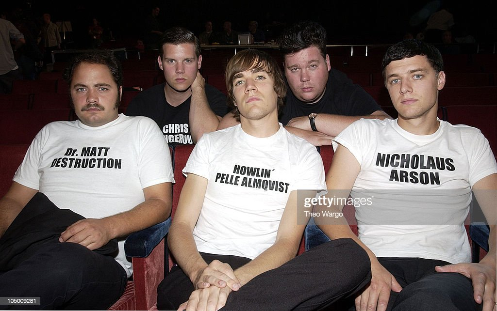2002 MTV Video Music Awards - Rehearsals - Day 1
