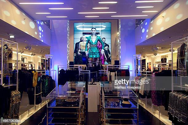 The HM shop is seen during the BALMAIN x HM Vienna Launch Party on November 4 2015 in Vienna Austria