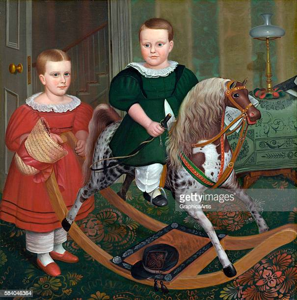 The Hobby Horse circa 1840 From the National Gallery of Art Washington DC Oil on canvas