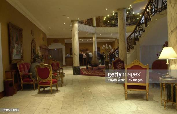 The Holiday Inn Hotel in Letterkenny Donegal where the Donegalborn country and western singer Daniel O'Donnell will stage his wedding reception after...