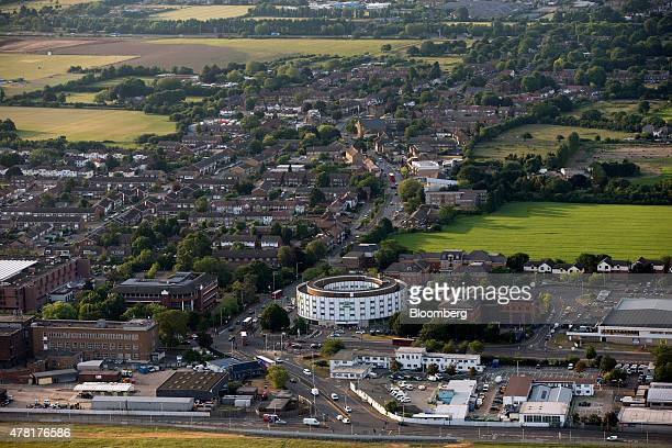 The Holiday Inn London Arial Hotel center operated by InterContinental Hotels Group Plc sits facing the A4 highway in the village of Harlington...