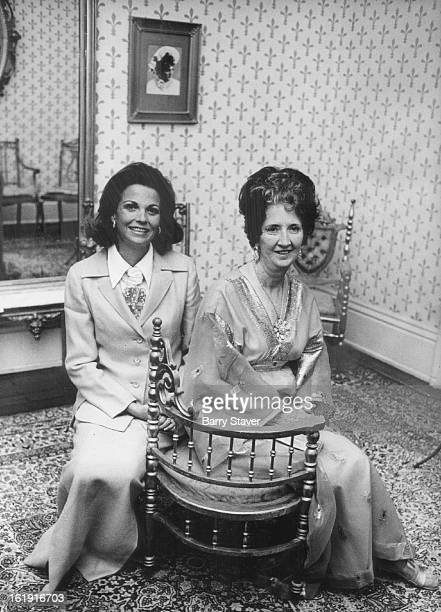 AUG 4 1973 AUG 6 1973 'The Hollow Crown' Opens in Central City Mrs Dan Burney of Dallas and her mother Mrs Harold ***** in Central City on Saturday...