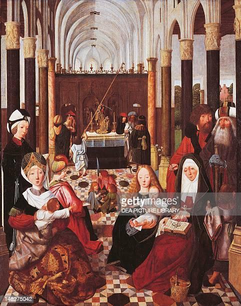 The Holy Kinship 14851496 by Geertgen Tot Sint Jans oil on panel 1375x105 cm Amsterdam Rijksmuseum