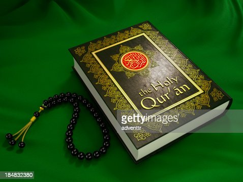 the holy quran stock photo getty images