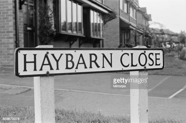 The home at 32 Haybarn Close in Littlethorpe Leicester of Colin Pitchfork accused of the rape and murder of the two Leicestershire teenage school...