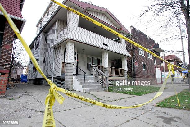 The home of Anthony Sowell is seen November 4 in Cleveland Ohio Sowell has been in jail since last week charged with murder rape and kidnapping after...