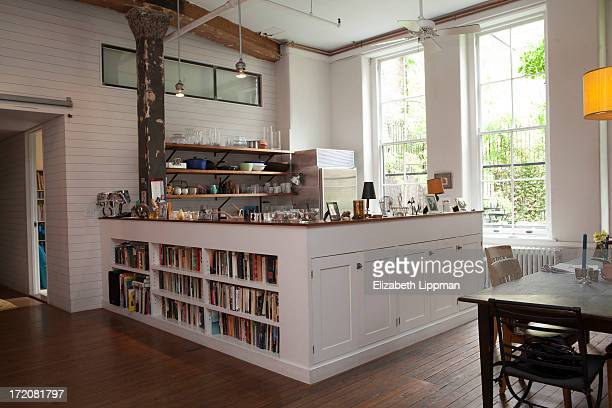 The home of broadway actress Judy Kuhn is photographed for New York Post on May 8 2013 in New York City