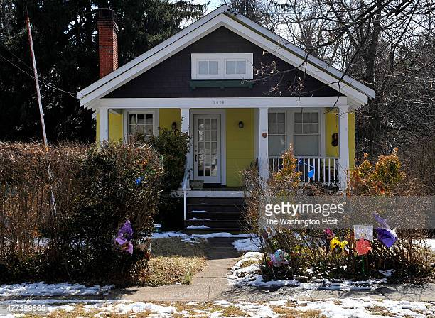 The home of murder victim Phil Welch on Saturday March 08 2013 in Silver Spring MD