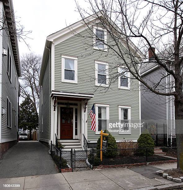 The Home of the Week at 590 East 8th Street in South Boston is photographed on Tuesday January 15 2013 The 4bedroom colonial is listed at $975000...