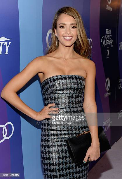 The Honest Company's Jessica Alba attends Variety's 5th Annual Power of Women event presented by Lifetime at the Beverly Wilshire Four Seasons Hotel...