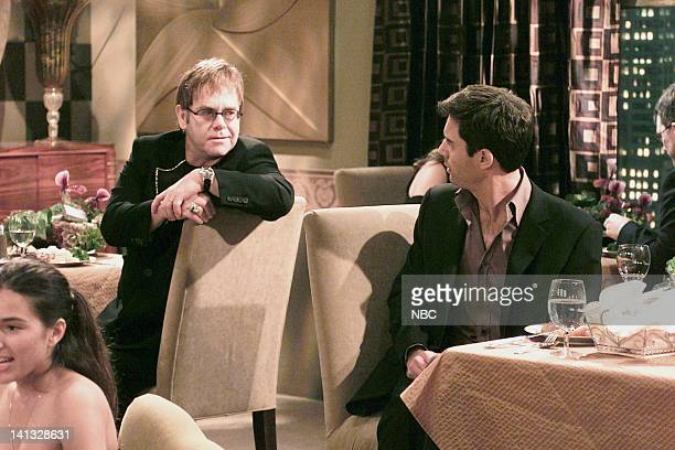 WILL GRACE 'The Honeymoon's Over' Episode 10 Air Date Pictured Elton John Eric McCormack as Will Truman Photo by Chris Haston/NBCU Photo Bank