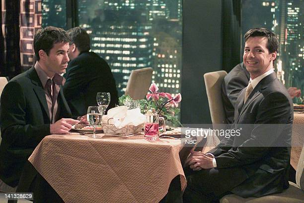 WILL GRACE 'The Honeymoon's Over' Episode 10 Air Date Pictured Eric McCormack as Will Truman Sean Hayes as Jack McFarland Photo by Chris Haston/NBCU...