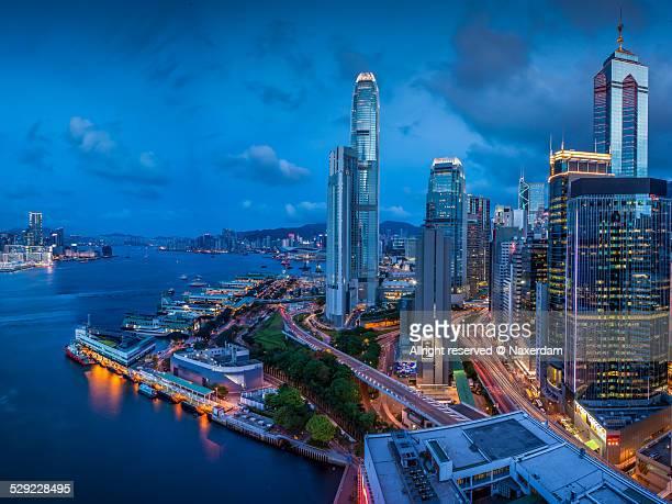 The Hongkong megacity