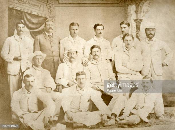 The Honourable Ivo Bligh's cricket team tour Australia when The Ashes were brought back to England circa 1882 After the team's victory in the third...
