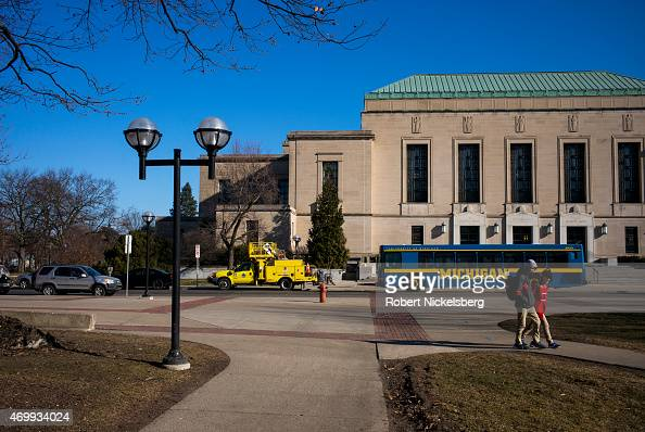 The Horace H Rackham School of Graduate Studies Building is viewed on the central campus March 24 2015 at the University of Michigan in Ann Arbor...