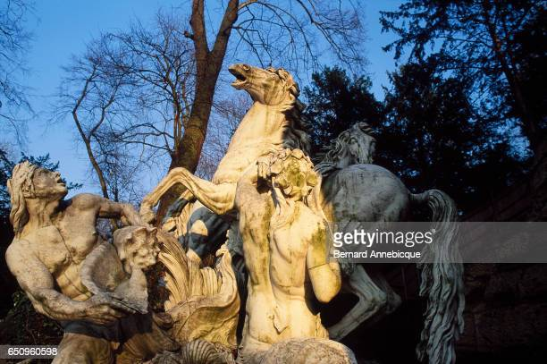 The Horses of the Sun by Gaspard Marsy in Versailles