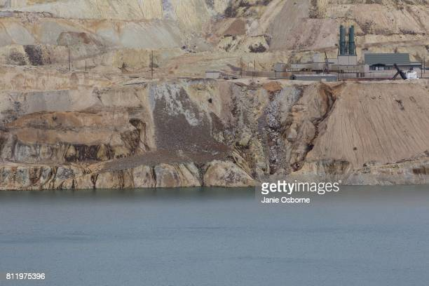 The Horseshoe Bend Treatment Plant a water treatment plant for contaminated water flowing into the Berkeley Pit is located on the edge of the...
