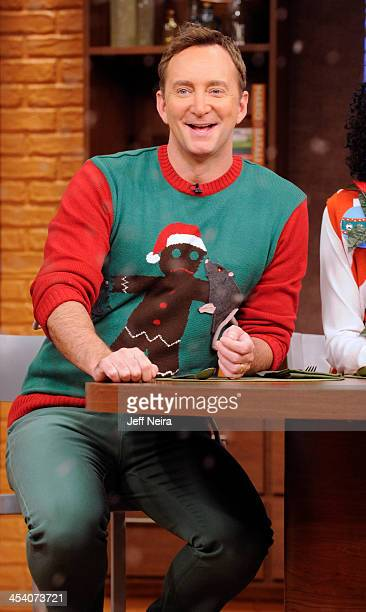 THE CHEW The hosts wear their ugliest Christmas sweaters as they welcome back singer Jewel Friday December 6 2013 on ABC's 'The Chew' 'The Chew' airs...