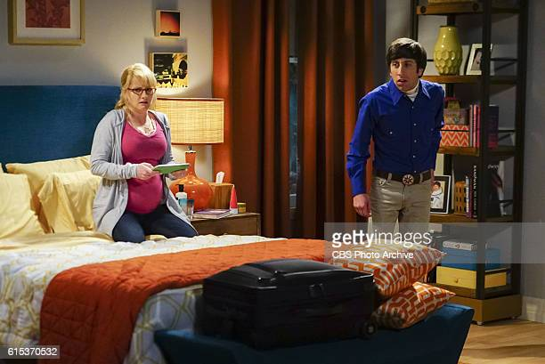 'The Hot Tub Contamination' Pictured Bernadette and Howard Wolowitz Leonard and Penny must separate a quarreling Sheldon and Amy when their...