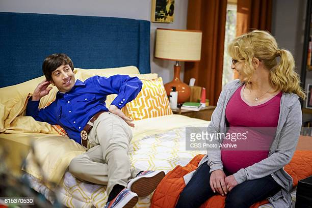 'The Hot Tub Contamination' Pictured Howard Wolowitz and Bernadette Leonard and Penny must separate a quarreling Sheldon and Amy when their...