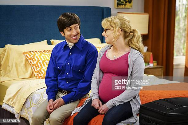'The Hot Tub Contamination' Pictured Howard Wolowitz Simon Helberg and Bernadette Leonard and Penny must separate a quarreling Sheldon and Amy when...