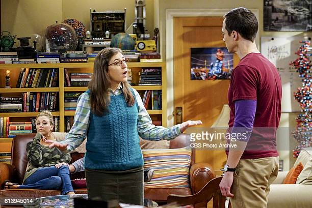 'The Hot Tub Contamination' Pictured Penny Amy Farrah Fowler and Sheldon Cooper Leonard and Penny must separate a quarreling Sheldon and Amy when...