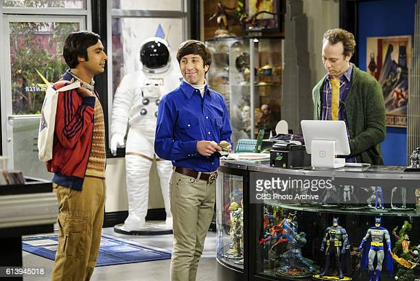 'The Hot Tub Contamination' Pictured Rajesh Koothrappali Howard Wolowitz and Stuart Leonard and Penny must separate a quarreling Sheldon and Amy when...