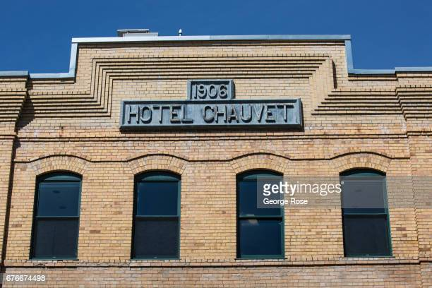 The Hotel Chauvet is viewed on April 23 in Glen Ellen California After record winter rainfall battered the North Coast eliminating a fiveyear drought...