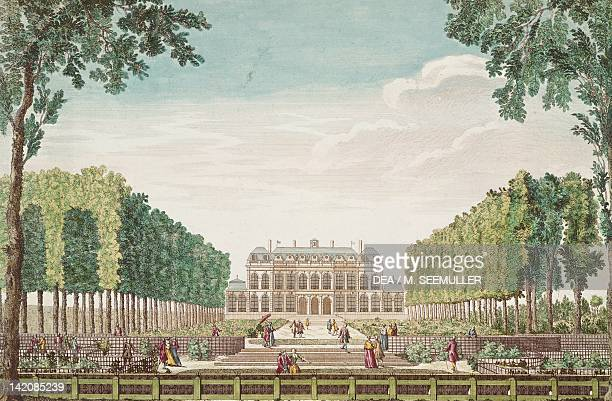 The Hotel d'Evreux in Paris residence of the Marquise de Pompadour today's Elysee Palace France 18th Century