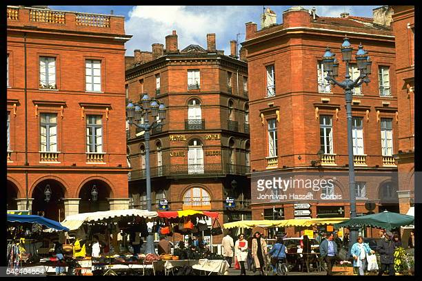 The Hotel du Grand Balcon on the Place du Capitole
