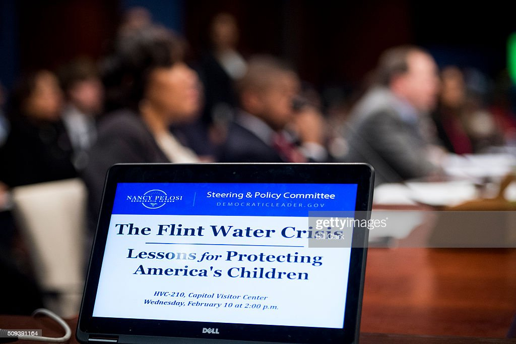 The House Democratic Steering & Policy Committee holds ahearing on 'The Flint Water Crisis: Lessons for Protecting America's Children' on Wednesday, Feb. 10, 2016.