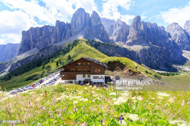 The house in Dolomite, Italy