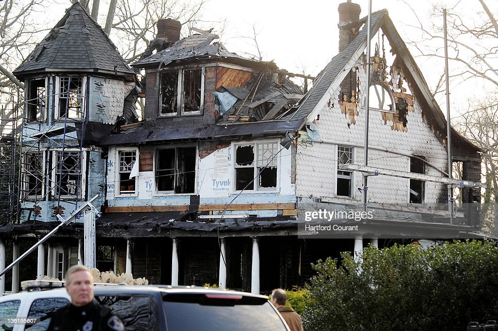The house in Stamford Connecticut where an earlymorning fire on December 25 killed two adults and three children