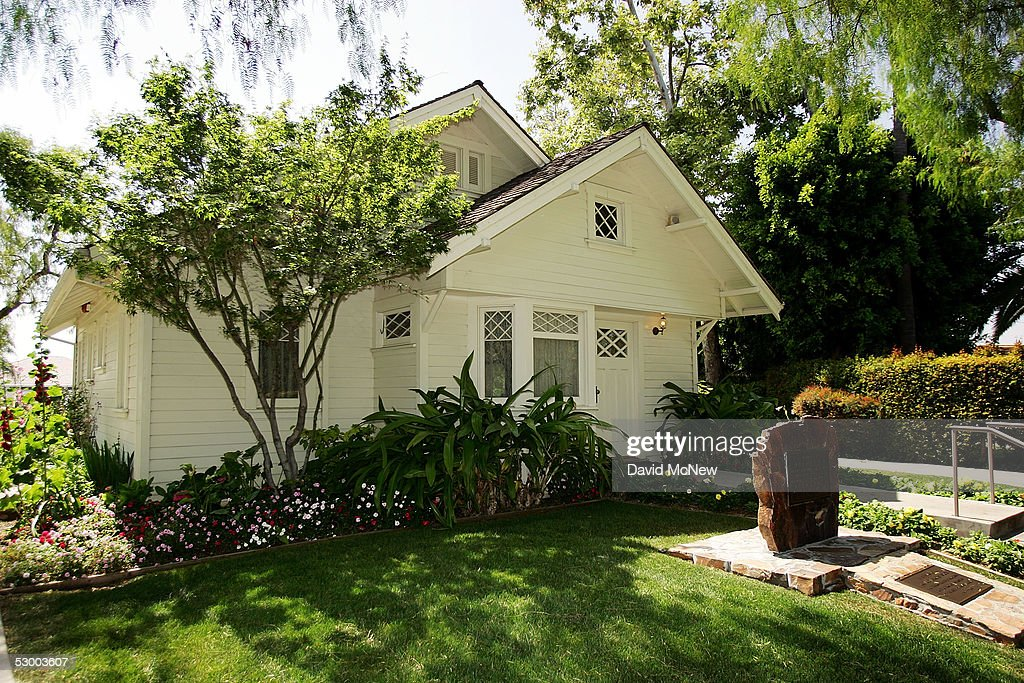 The house where President Richard Nixon was born is seen at the Richard Nixon Library & Birthplace on May 31, 2005 in Yorba Linda, California. A Vanity Fair magazine article reports that a retired FBI official, Mark Felt, was the 'Deep Throat' source who spoke to two Washington Post reporters about the Watergate scandal that forced former president Richard Nixon to resign in 1974.