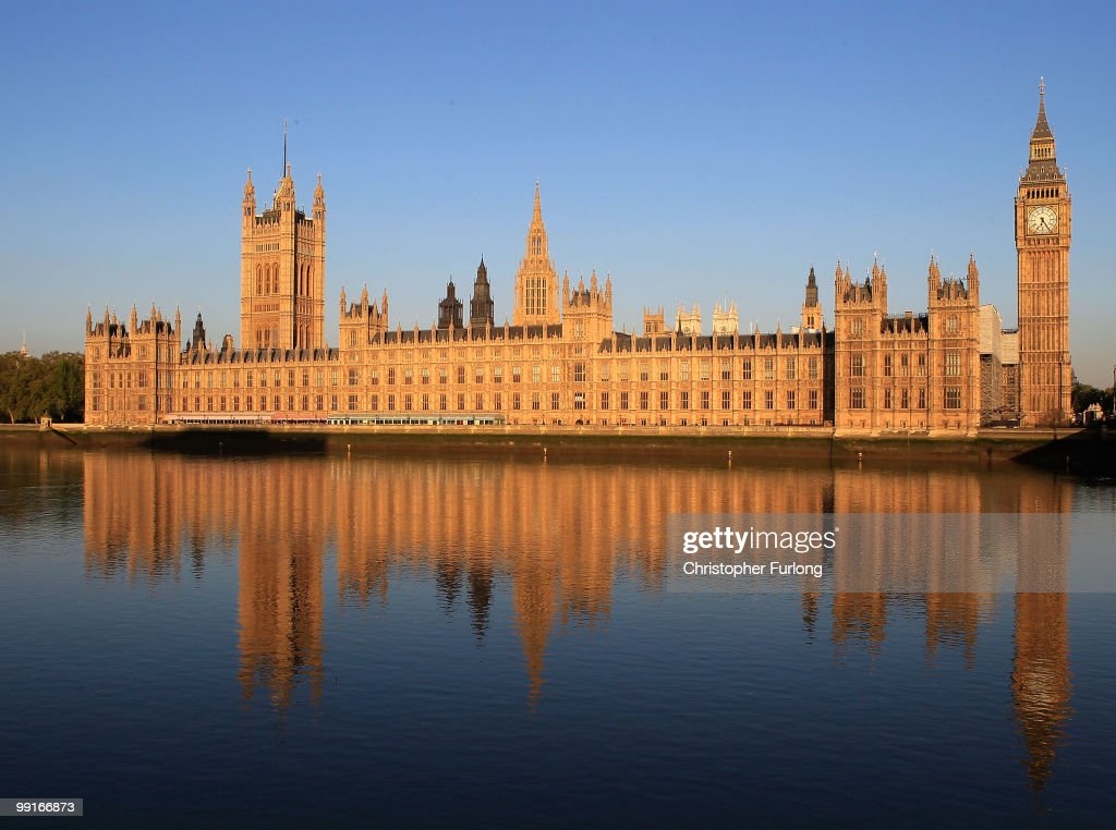 The Houses of Parliament are bathed in the early morning sunshine on May 13, 2010 in London, England. New Prime Minister David Cameron is holding his first full cabinet meeting today.