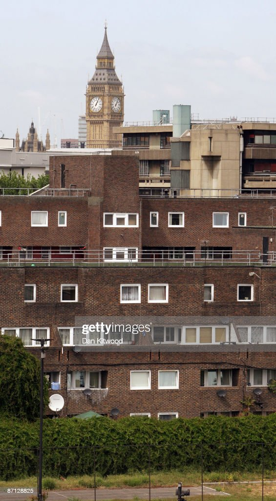 The Houses of Parliament rise above a council estate in an area of South London, more affluent pockets of the neighbourhood are popular with MPs as a location for their second homes due to the proximity of the seat of power on May 12, 2009 in London, England. MPs have come under increasing pressure over revelations concerning their household expenses and second home allowances. Whilst the country at large experiences the effects of a deep recession there is growing unease over an apparent manipulation of a system designed to recompense MPs for costs incurred in serving their constituents.