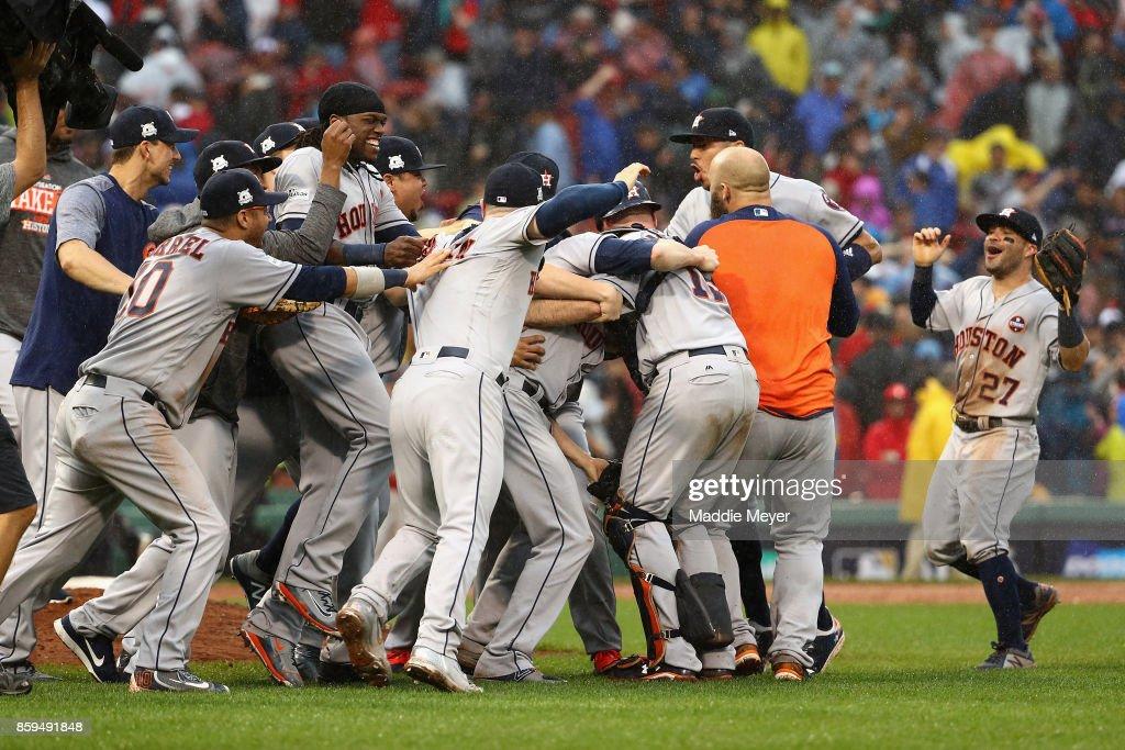 ALDS: Houston Astros vs. Boston Red Sox