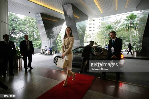 The HRH Crown Princess Mary of Denmark arrives for The Women Deliver Conference on May 28 2013 in Kuala Lumpur Malaysia The Women Deliver 2013...