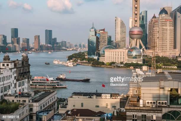 the Huangpu River