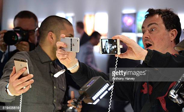 The Huawei P9 global launch at Battersea Evolution on April 6 2016 in London England
