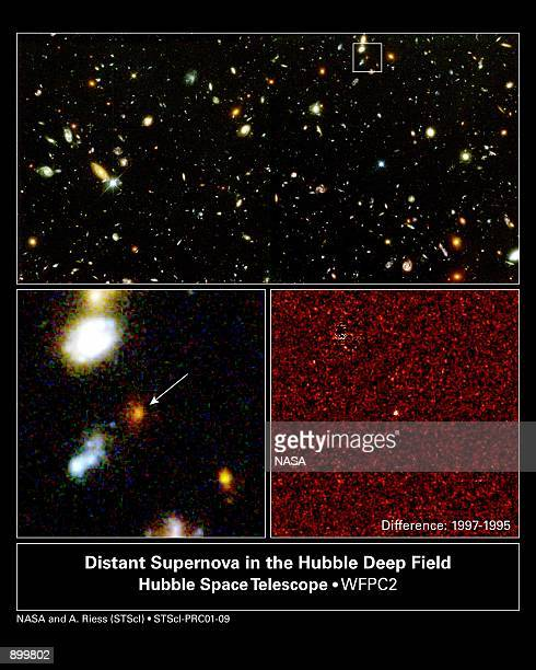 The Hubble Space Telescope has spied the most distant supernova ever an 11 billion year old exploding star whose existence suggests that a repulsive...