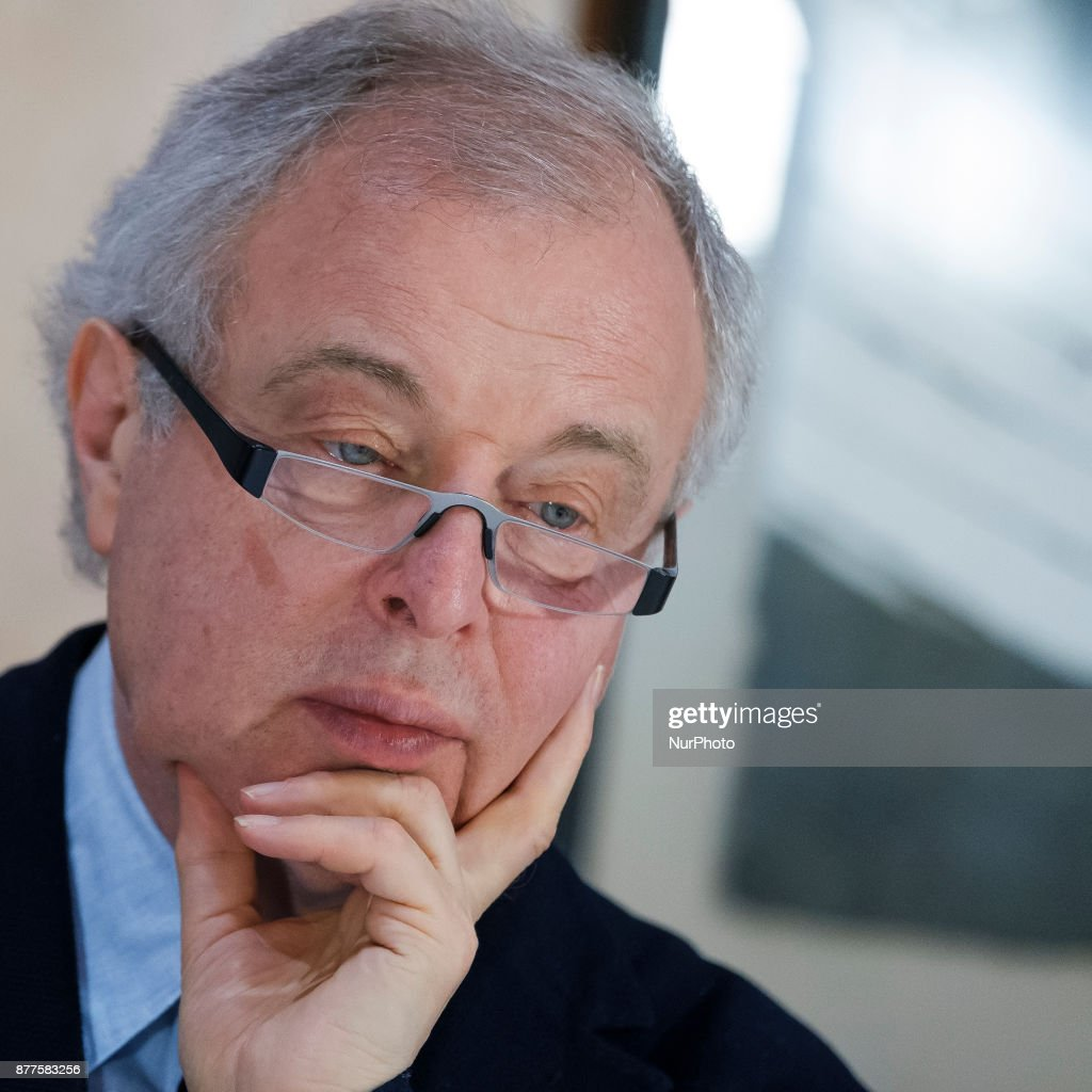 The Hungarian Orchestra Director Andras Schiff in Madrid