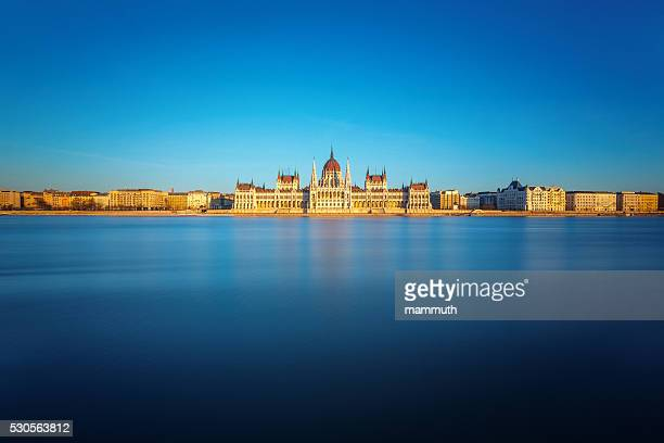 the Hungarian Parliament in Budapest