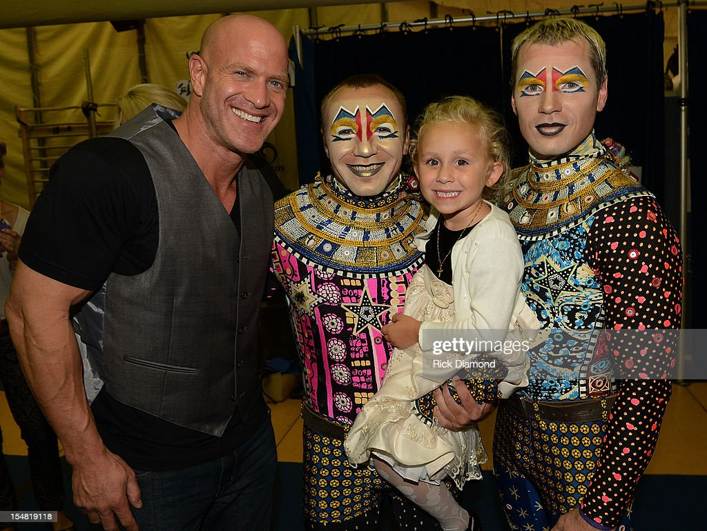 'The Hunger Games: Catching Fire' cast member Bruno Gunn attends Cirque du Soleil TOTEM Premiere at Atlantic Station on October 26, 2012 in Atlanta, Georgia.