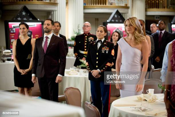 SHOOTER 'The Hunting Party' Episode 201 Pictured Jaina Lee Ortiz as Angela Tio Shantel Vansanten as Julie Swagger