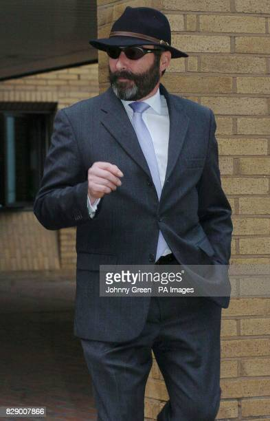 The husband of former secretary at Goldman Sachs Joyti DeLaurey Anthony leaves Southwark Crown Court in London where his wife is facing charges of...
