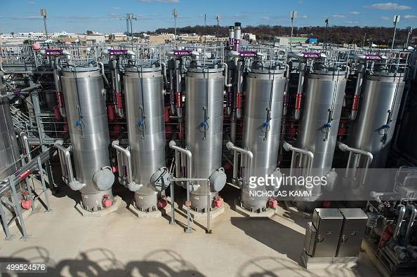 GILLAM 'USENVIRONMENTCLIMATEENERGYCOP21ELECTRICITY' The hydrolysis wastewater treatment center is seen at DC Water's Blue Plains plant in Washington...